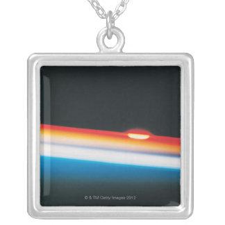 Sunset over South Africa Silver Plated Necklace