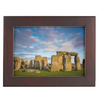 Sunset over Stonehenge, Wiltshire, England Keepsake Box