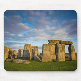 Sunset over Stonehenge, Wiltshire, England Mouse Mat