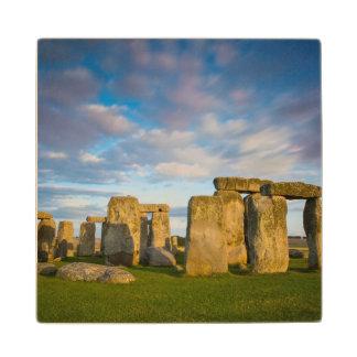 Sunset over Stonehenge, Wiltshire, England Wood Coaster