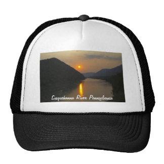 Sunset over Susquehanna River Pennsylvania Cap