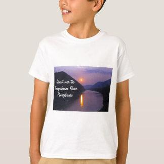 Sunset over Susquehanna River Pennsylvania T-Shirt
