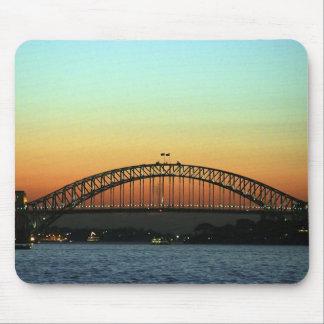Sunset over Sydney Harbor Bridge, Australia Mouse Mat
