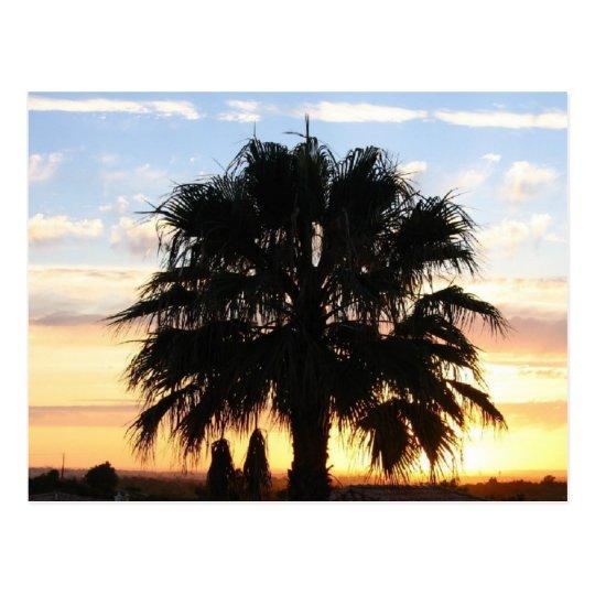 Sunset Over the Algarve, Portugal Postcard