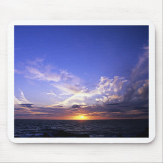 Sunset over the Atlantic. Mouse Mat