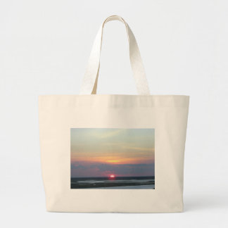 Sunset Over the Bay in Margate NJ Bags
