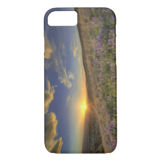 Sunset over the Bitterroot Mountains and vast iPhone 8/7 Case