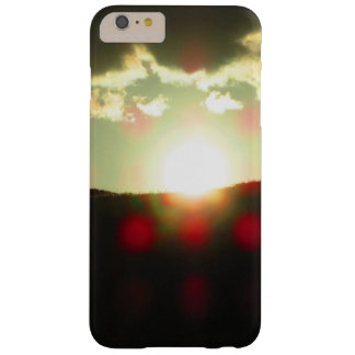 Sunset over the hill barely there iPhone 6 plus case