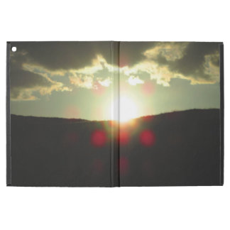 """Sunset over the hill iPad pro 12.9"""" case"""