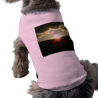 Sunset over the hill shirt
