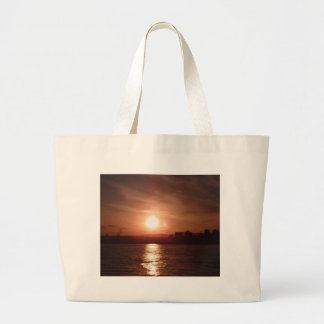 Sunset Over The Lake Bags