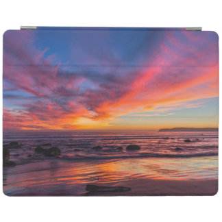 Sunset over the Pacific from Coronado 2 iPad Cover