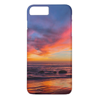 Sunset over the Pacific from Coronado 2 iPhone 8 Plus/7 Plus Case