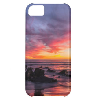 Sunset over the Pacific from Coronado iPhone 5C Case