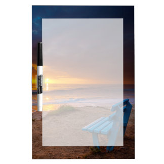 Sunset over the Pacific Ocean Dry Erase Boards