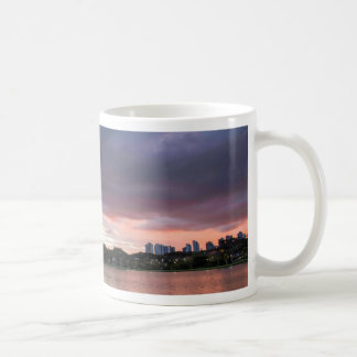 Sunset Over The Park Coffee Mug