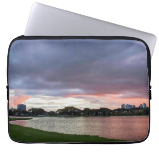 Sunset Over The Park Computer Sleeves
