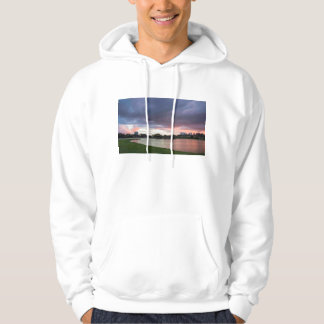 Sunset Over The Park Hoodie