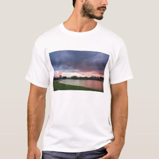 Sunset Over The Park T-Shirt