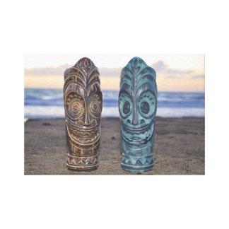 Sunset over the Polynesian Canvas Print