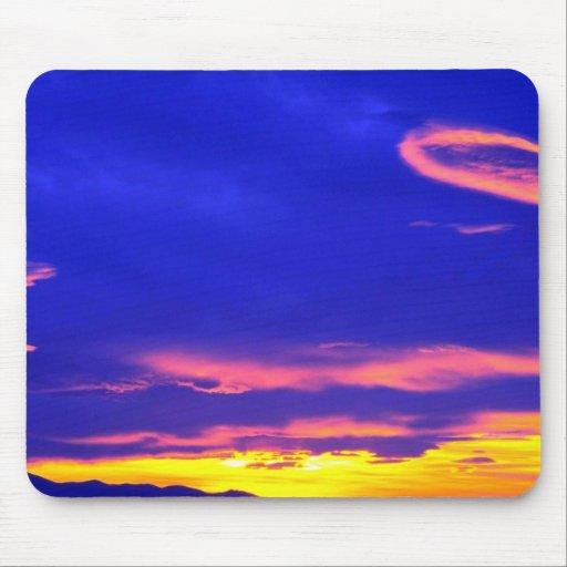 Sunset over the Sweetgrass Hills, Montana, USA Mousepad
