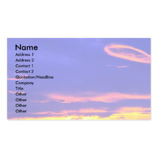 Sunset over the Sweetgrass Hills, Montana, USA Pack Of Standard Business Cards