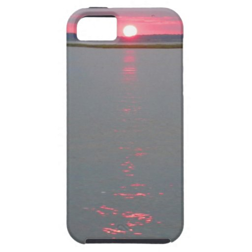 Sunset over the water iPhone 5/5S case