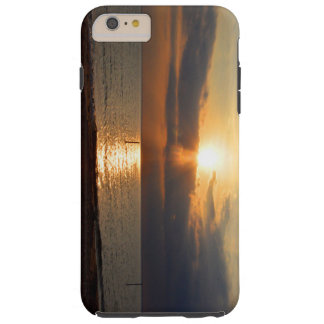 Sunset Over Water on Iphone 6 Case
