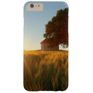 Sunset Over Wheat Field Barely There iPhone 6 Plus Case