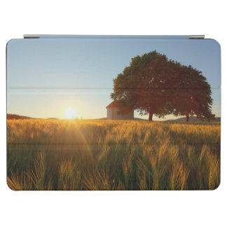 Sunset Over Wheat Field iPad Air Cover