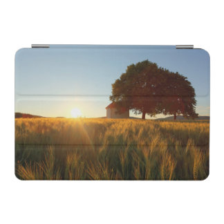 Sunset Over Wheat Field iPad Mini Cover