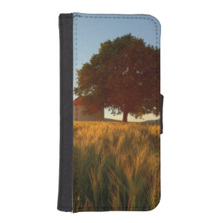 Sunset Over Wheat Field iPhone SE/5/5s Wallet Case