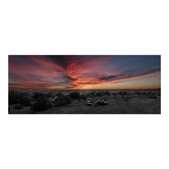 Sunset over Yuma Poster