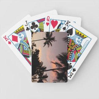 Sunset pack of cards
