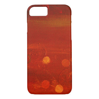 Sunset Painted Texture iPhone 7, Barely There iPhone 8/7 Case