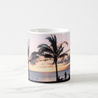 Sunset Palm Trees Coffee Mug