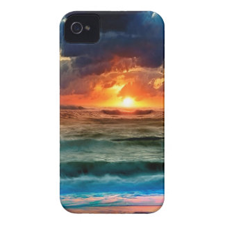 Sunset Panoramic Colours iPhone 4 Case