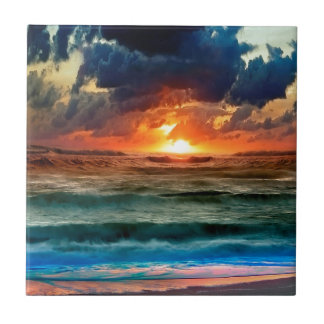 Sunset Panoramic Colours Tiles