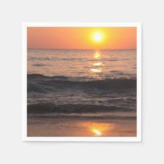 Sunset, Paper Napkins Disposable Serviette