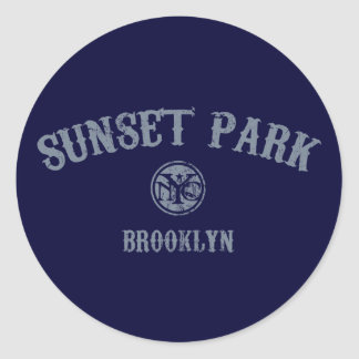 Sunset Park Sticker