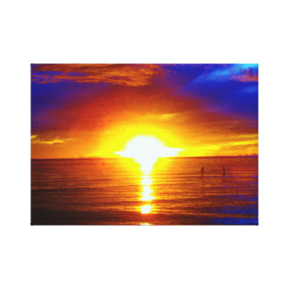 Sunset Passion Gallery Wrap Canvas