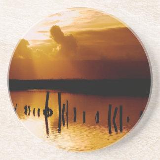 Sunset Peace And Harmony Coaster