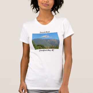 Sunset Peak, Crawford Bay Womens Tshirt