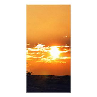 Sunset Photo Card