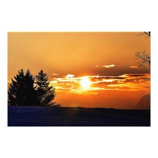 Sunset Art Photo