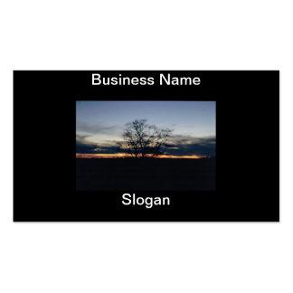 Sunset Photograph Business Card