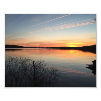 Sunset Picture Photo Print