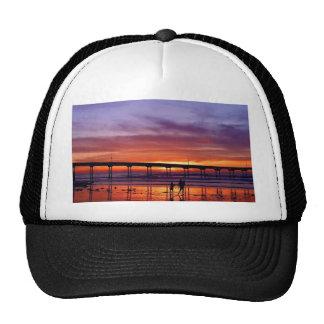 Sunset Pier Trucker Hat