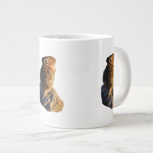 Sunset Pika Extra Large Mug