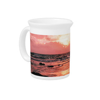 SUNSET PITCHER